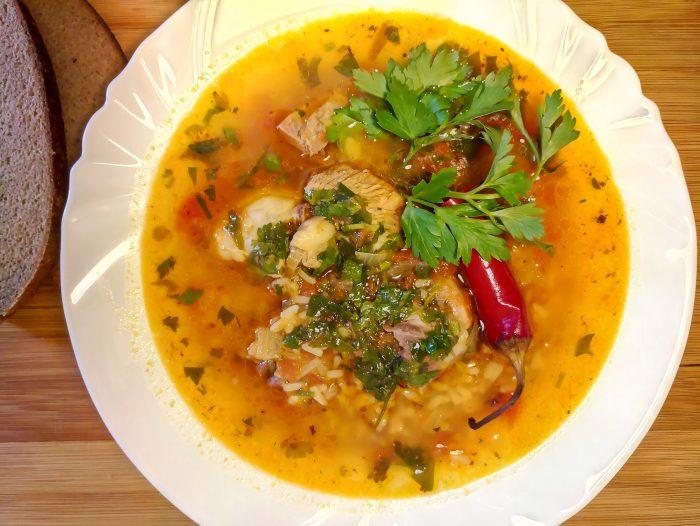 Рисовый суп с бараниной рецепт с фото