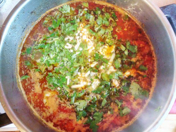 рецепт рисовый суп с бараниной