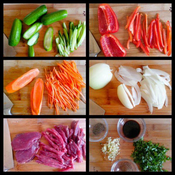 Салат фунчоза(фунчёза)пошаговый рецепт с фото