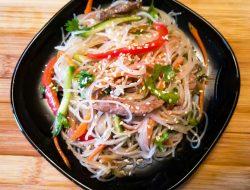 Фунчоза салат рецепт приготовления пошагово