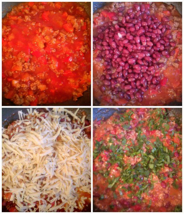 Бурритос с фаршем и фасолью рецепт