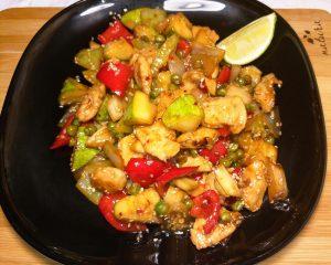 Курица по тайски с овощами рецепт