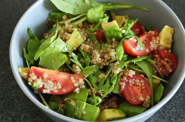как приготовить салат с киноа и авокадо пошаговый рецепт с фото