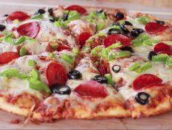 Лёгкий рецепт вкусной домашней пиццы