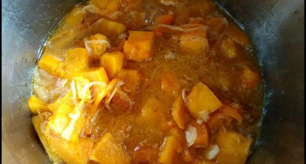 тыквенный крем суп рецепт