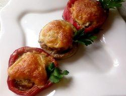 Фаршированные овощные кольца рецепт с фото