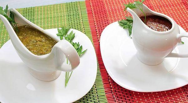 Ткемали красный и зелёный рецепт с фото