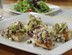 острая курица с авокадо рецепт