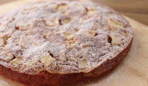 Вкусный и сладкий яблочный пирог с корицей рецепт с фото