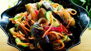 Баклажаны по-корейски рецепт с фото и видео