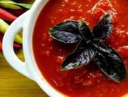 Острый соус из помидор и красного болгарского перца с острым перцем на зиму рецепт. Огонёк рецепт!