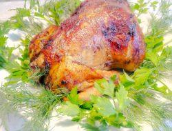 Фаршированный цыплёнок Цыплёнок ляванги