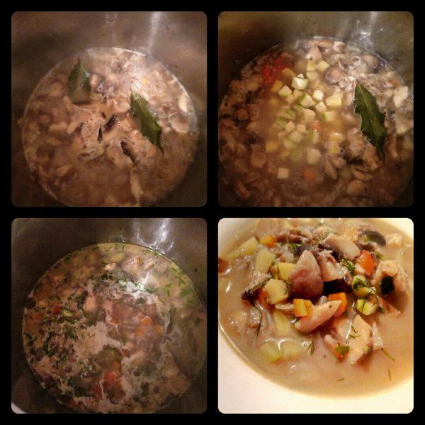 Грибной суп рецепт с фото пошагово