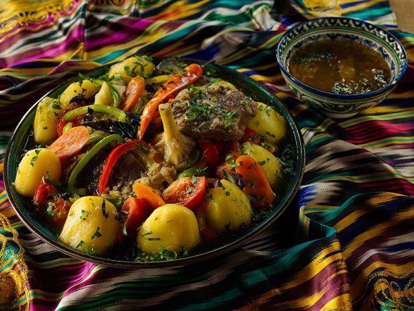 Домляма(димляма) в казане по-узбекски рецепт с фото