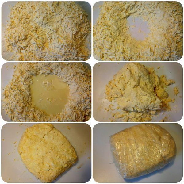 Пирог с курицей и картофелем из слоеного бездрожжевого теста рецепт