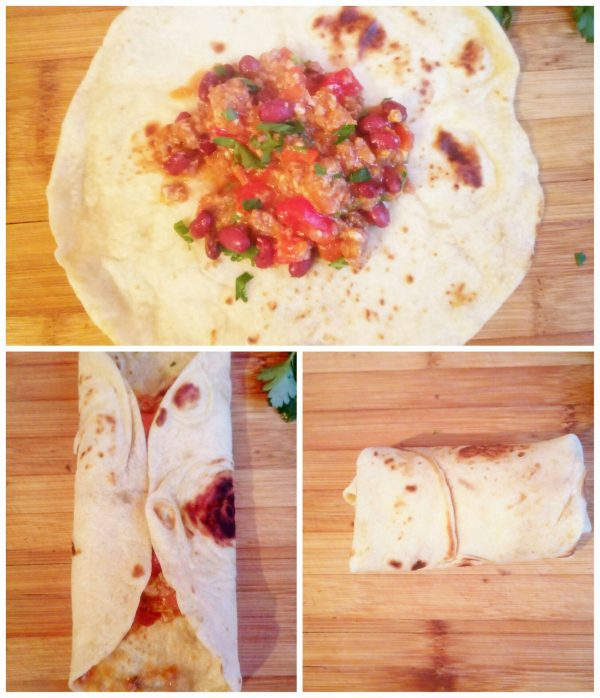 Буррито с фаршем и фасоль рецепт с фото пошагово