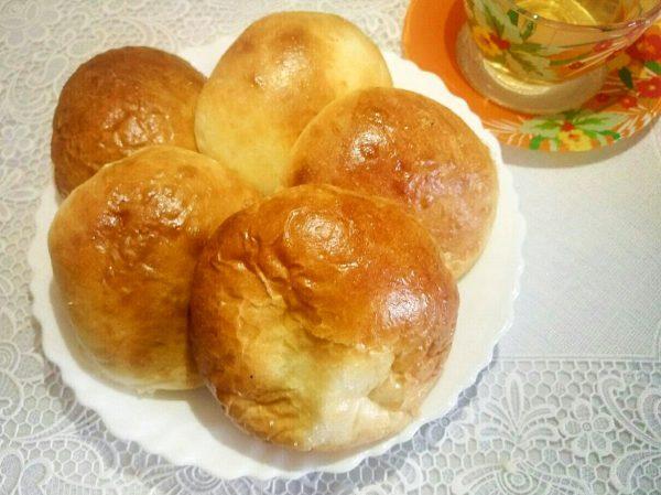 Рецепт сладких булочек с творогом