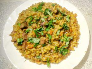 Машкичири(каша из маша и риса) рецепт с фото пошагово