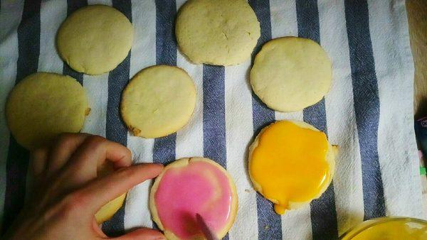 Детское печенье с сахарной глазурью рецепт с фото