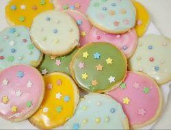 Детское печенье с сахарной глазурью рецепт