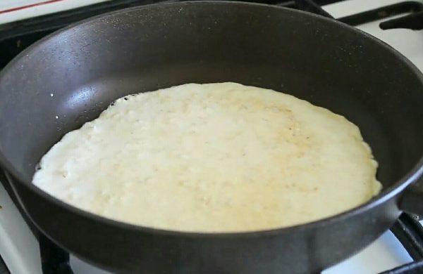 Овсяноблин с клубникой рецепт пп