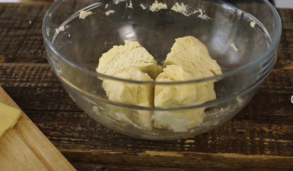 Галета с грибами и яйцом рецепт