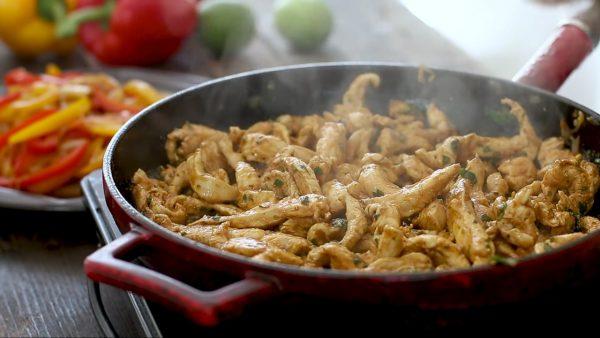 Фахитас с курицей рецепт с фото