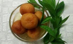 Молочные шарики из сухого молока Гулаб Джамун
