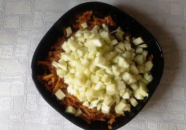 Оладьи с тыквой и яблоками рецепт
