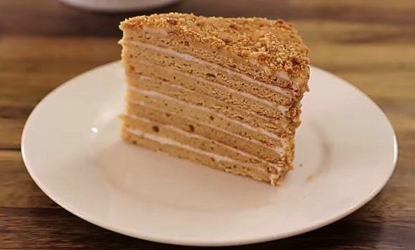 Торт Медовик самый вкусный и лёгкий рецепт
