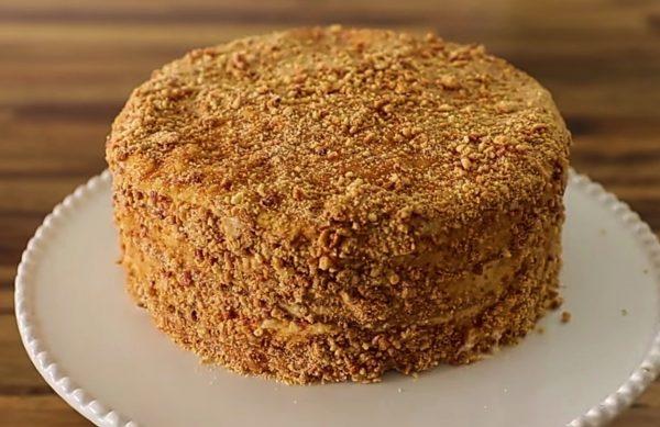 Торт Медовик вкусный и лёгкий рецепт с фото