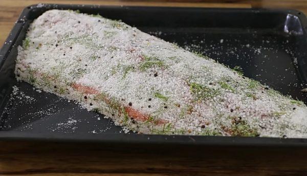 сёмга слабосолёная рецепт с фото