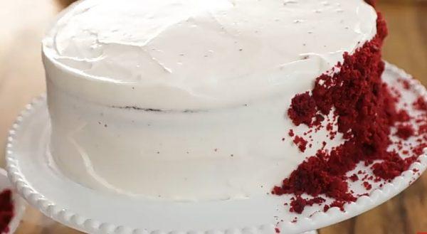 """Торт """"Красный Бархат"""" рецепт с фото"""