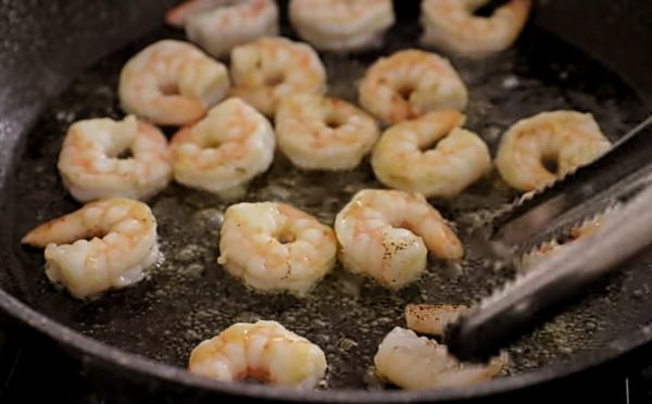паста с креветками рецепт пошаговый рецепт с фото