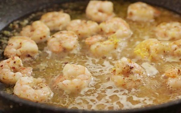 паста с креветками пошаговый рецепт с фото