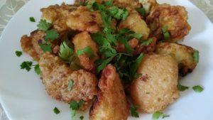 Жареная цветная капуста в нежном и простом кляре рецепт с фото и видео