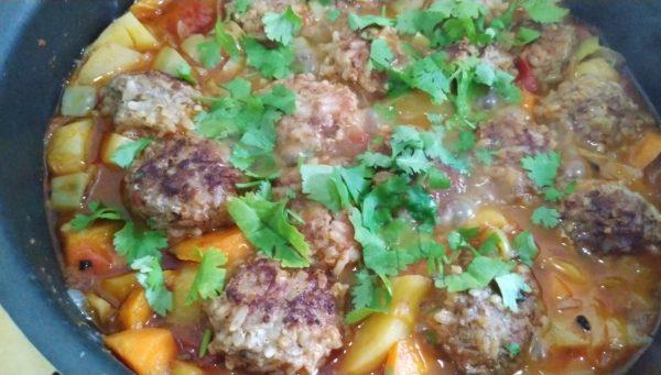 Сочные и нежные тефтели с рисом и овощами рецепт с фото и видео