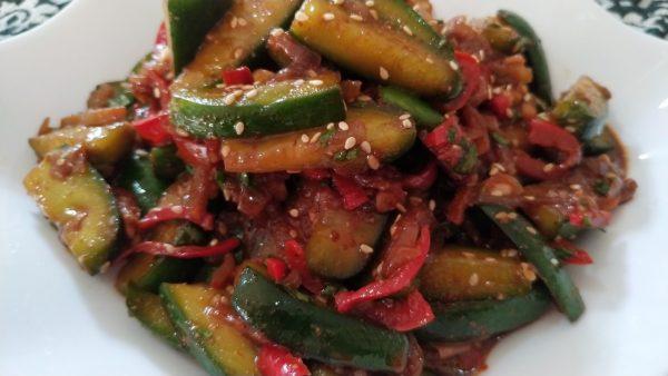 Огурцы по-корейски (ве-ча) рецепт с фото
