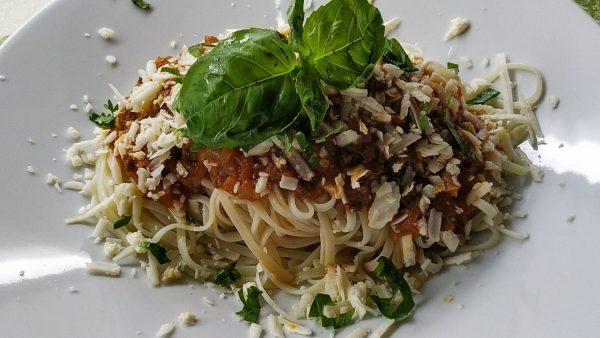 """Паста (спагетти) А-ля """"Болоньезе"""" классический рецепт!"""
