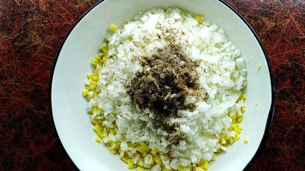 Картофельная начинка для самсы с картошкой по-узбекски