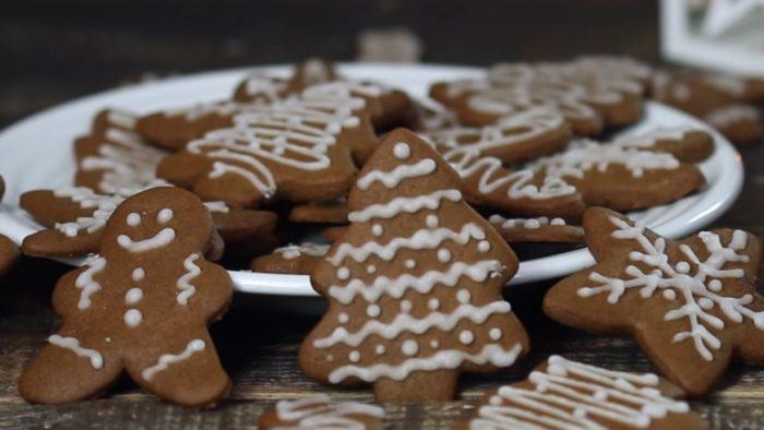Классическое имбирное печенье рецепт с фото