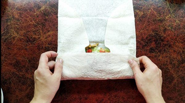 Сочная шаурма с курицей и овощами в домашних условиях рецепт