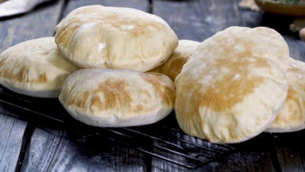 """Арабский хлеб """"Пита"""" пошаговый рецепт с фото"""